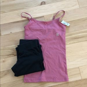 Aeropostale Cami and Legging Bundle